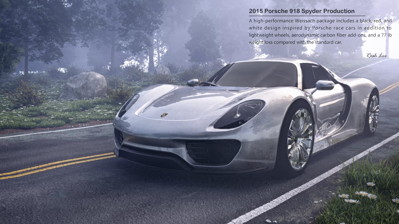 2015 porsche 918 spyder production gallery skatter. Black Bedroom Furniture Sets. Home Design Ideas